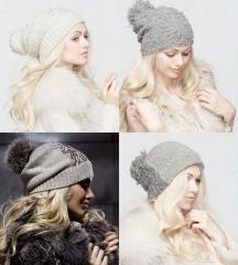 Модные вязаные шапки 2013: Effre