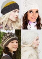Вязаные шапки 2013