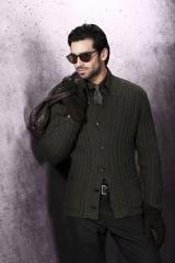 Вязаная мужская одежда 2012: составляем теплый и стильный гардероб.