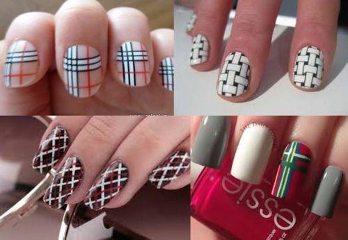 Красивые рисунки на ногтях для начинающих, простые 36