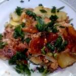 Картофельная запеканка с фаршем на скорую руку