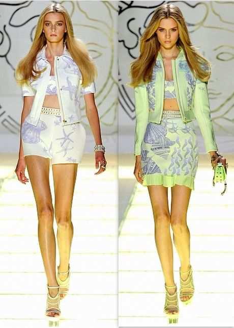 Тенденции лета 2012: модные шорты и топы