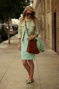 Мятный цвет – самый модный цвет лета 2012