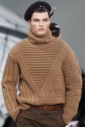 Модные мужские свитера: Louis Vuitton