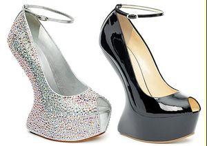 Туфли на платформе без каблука: Heel-less heels