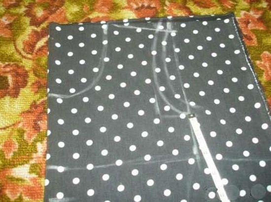 Выкройка верхней части платья