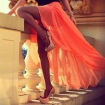Выкройка юбки короткой спереди и длинной сзади (юбки со шлейфом)