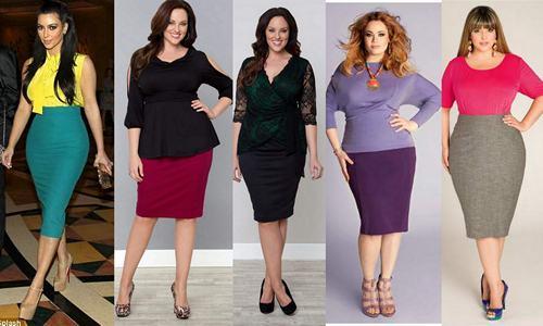 Юбки для полных женщин: какие выбрать и с чем носить | Ух ты!