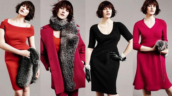 платья и пальто Marina Rinaldi из кашемира