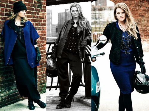 джинсовые и кожаные вещи Marina Rinaldi