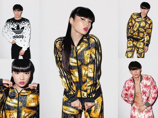 За основу коллекции был взят японский стиль