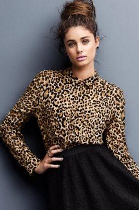 Леопардовые блузки 2014