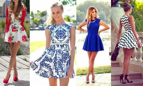 модные летние платья 2014