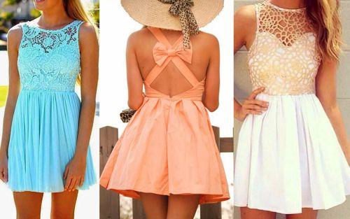 платья лето 2014