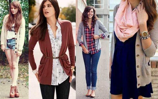 Кардиган, джинсы, рубашка...
