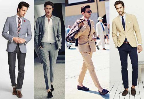 С чем носить мужские лоферы: варианты для работы