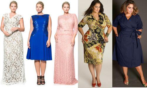 Как выбрать платья для полных