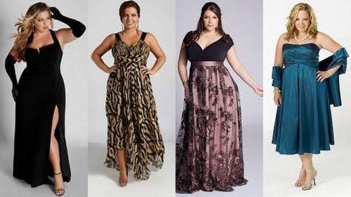 Как выбрать платья для полных девушек: фото с удачными образами и