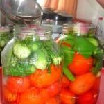 Овощное ассорти на зиму без стерилизации