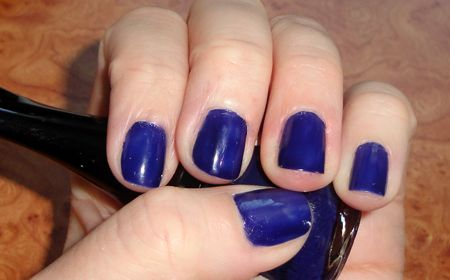 Основной синий лак