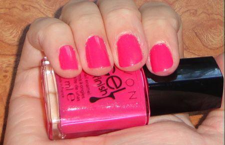 Розовый гель-лак от Avon