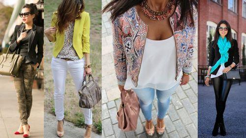 Еще несколько вариантов, с чем носить пиджак