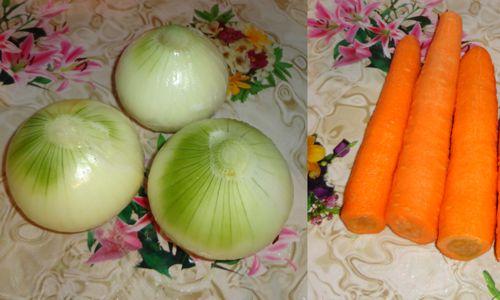 Овощи для грибной икры