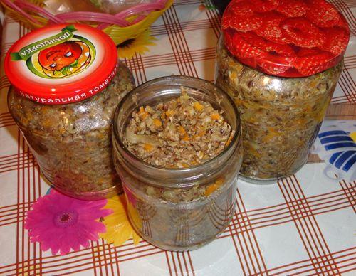 Как приготовить грибную икру из опят на зиму