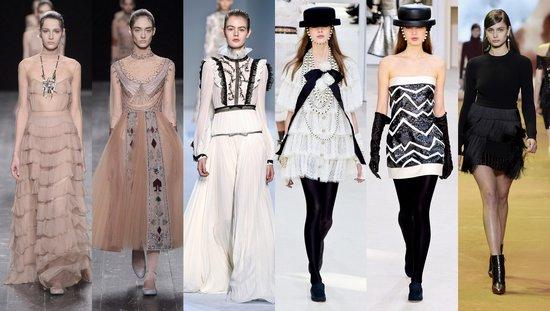 Valentino, Chanel, Giambattista Valli