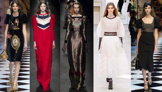 Chanel, Dolce & Gabbana, Gucci