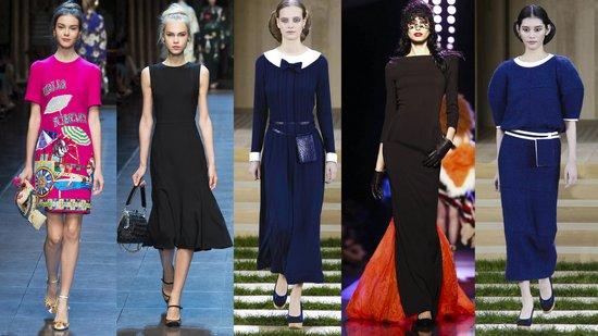 Dolce & Gabbana, Chanel, Jean Paul Gaultier