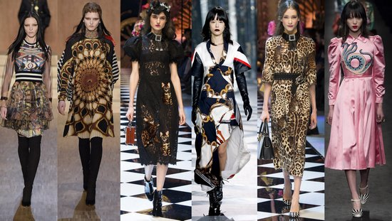 Givenchy, Dolce & Gabbana, Gucci, Louis Vuitton