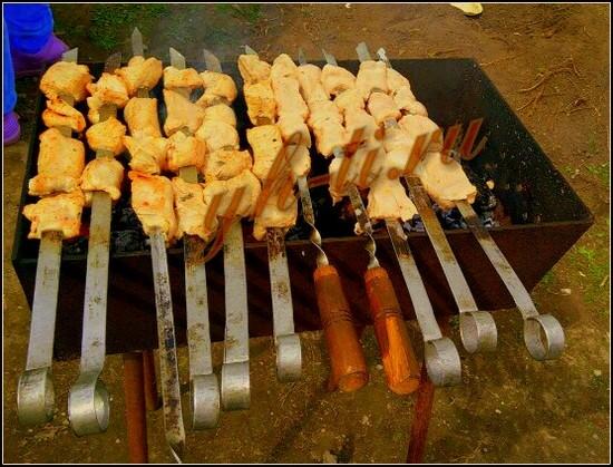 Как приготовить вкусный шашлык - у каждого свой рецепт ;-)