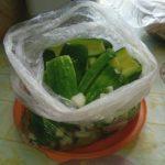 Малосольные огурцы в пакете: быстрый рецепт с фото