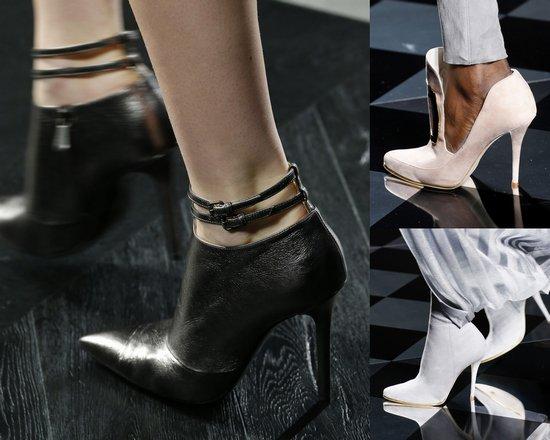 Обувь на шпильке 2017 (Bottega Veneta, Balmain)