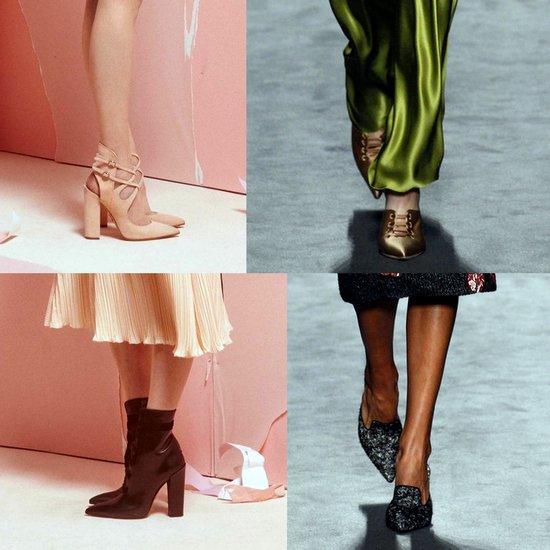 Обувь с острым носом в моде в 2017 году