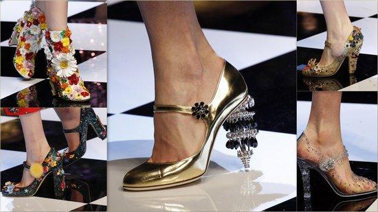 Футуристичные туфли от DOLCE & GABBANA