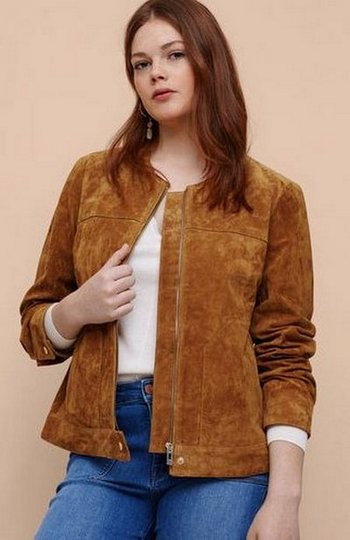 Замшевая куртка 11 999 руб