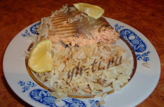 рецепты с рисом в фольге в духовке