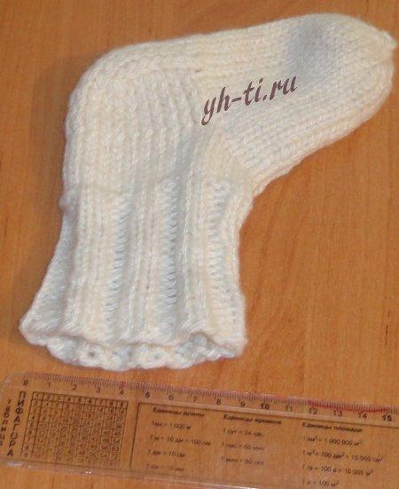 Ширина голенища носка