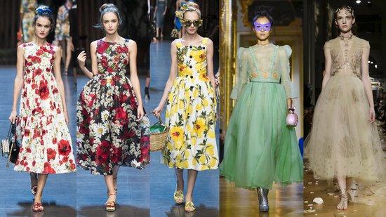 Dolce & Gabbana, Ulyana Sergeenko