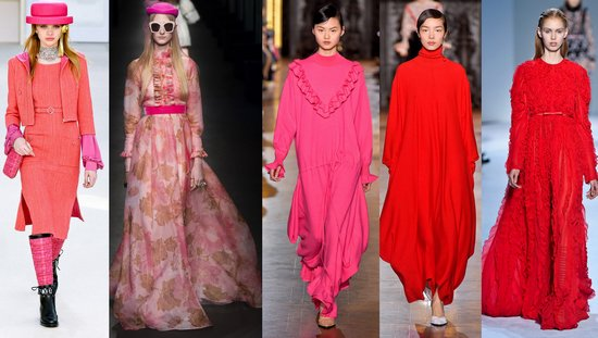 Stella McCartney, Chanel, Giambattista Valli