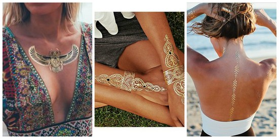 metallic-flash-tattoos
